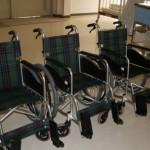 詫間中学校より車椅子を3台寄贈していただきました