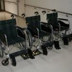 今年も詫間中学校生徒会から車椅子のプレゼント