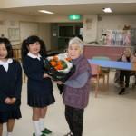 箱浦小学校の4年生、5年生のみなさんから季節のお便り