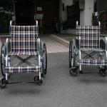 今年も詫間中学校から車椅子を寄贈いただきました