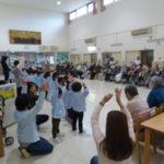 幼稚園の慰問